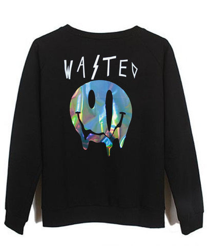 wasted sweatshirt