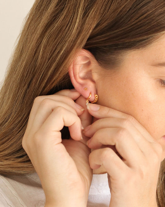 How to Style an Earring Stack