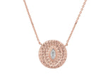Athena Necklace - Rose Gold