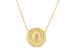 Athena Necklace - Yellow Gold