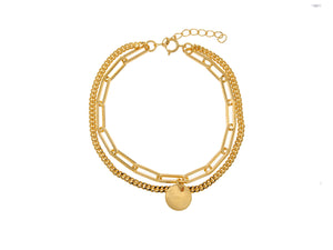 Santorini Bracelet - Yellow Gold