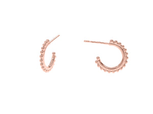 Positano Full Hoops - Rose Gold
