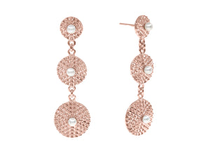 Capri Earrings - Rose Gold