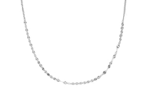Juliet Choker Necklace- Silver (Rhodium)