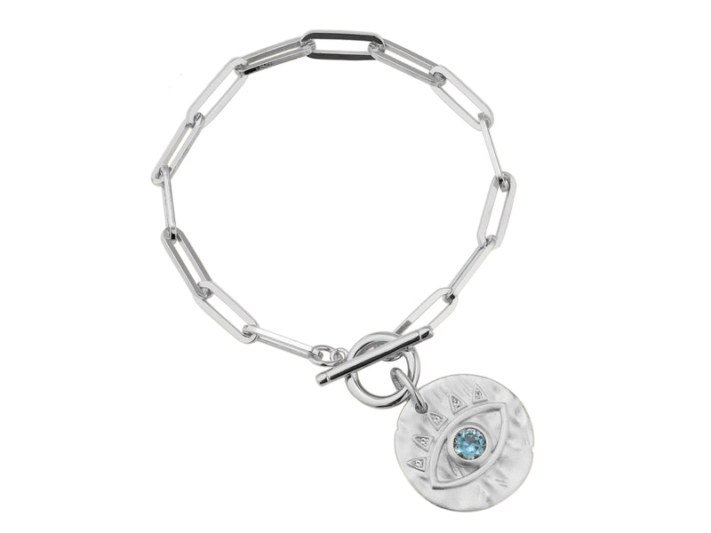 Soteria Bracelet - Silver (Rhodium Plated)
