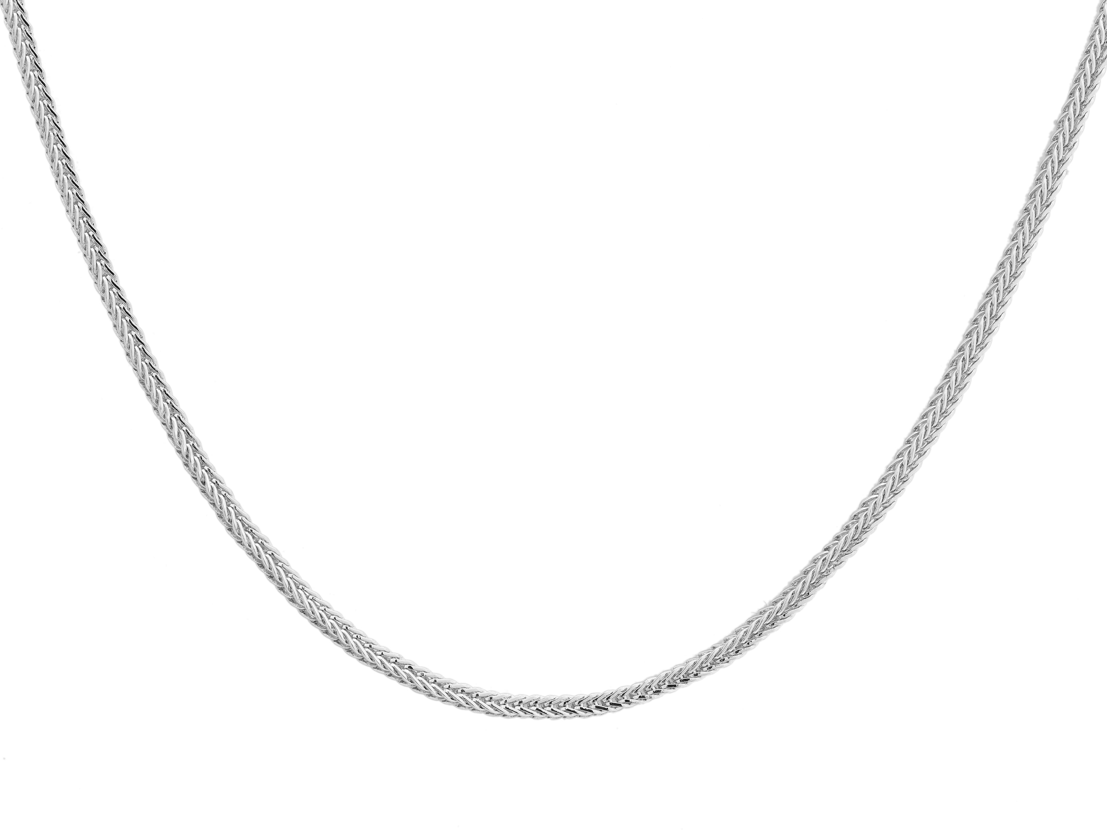 Snake Chain - Silver (Rhodium Plated)