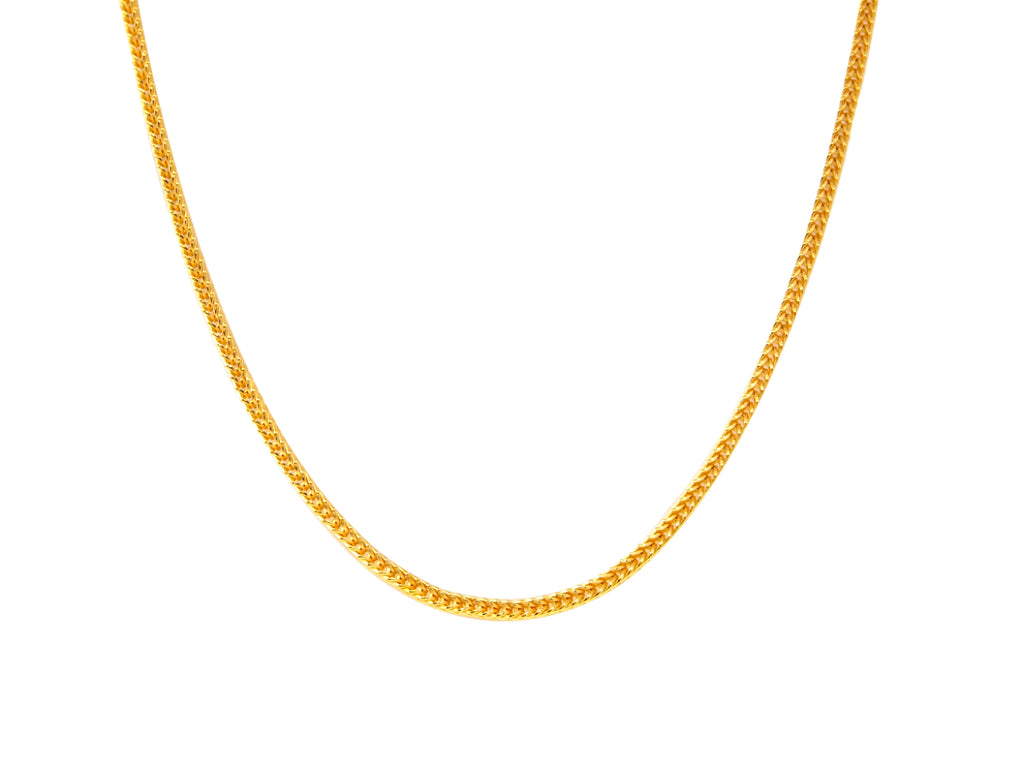 Snake Chain - Yellow Gold