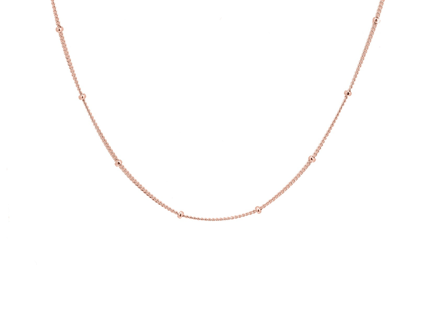 Bobble Chain - Rose Gold