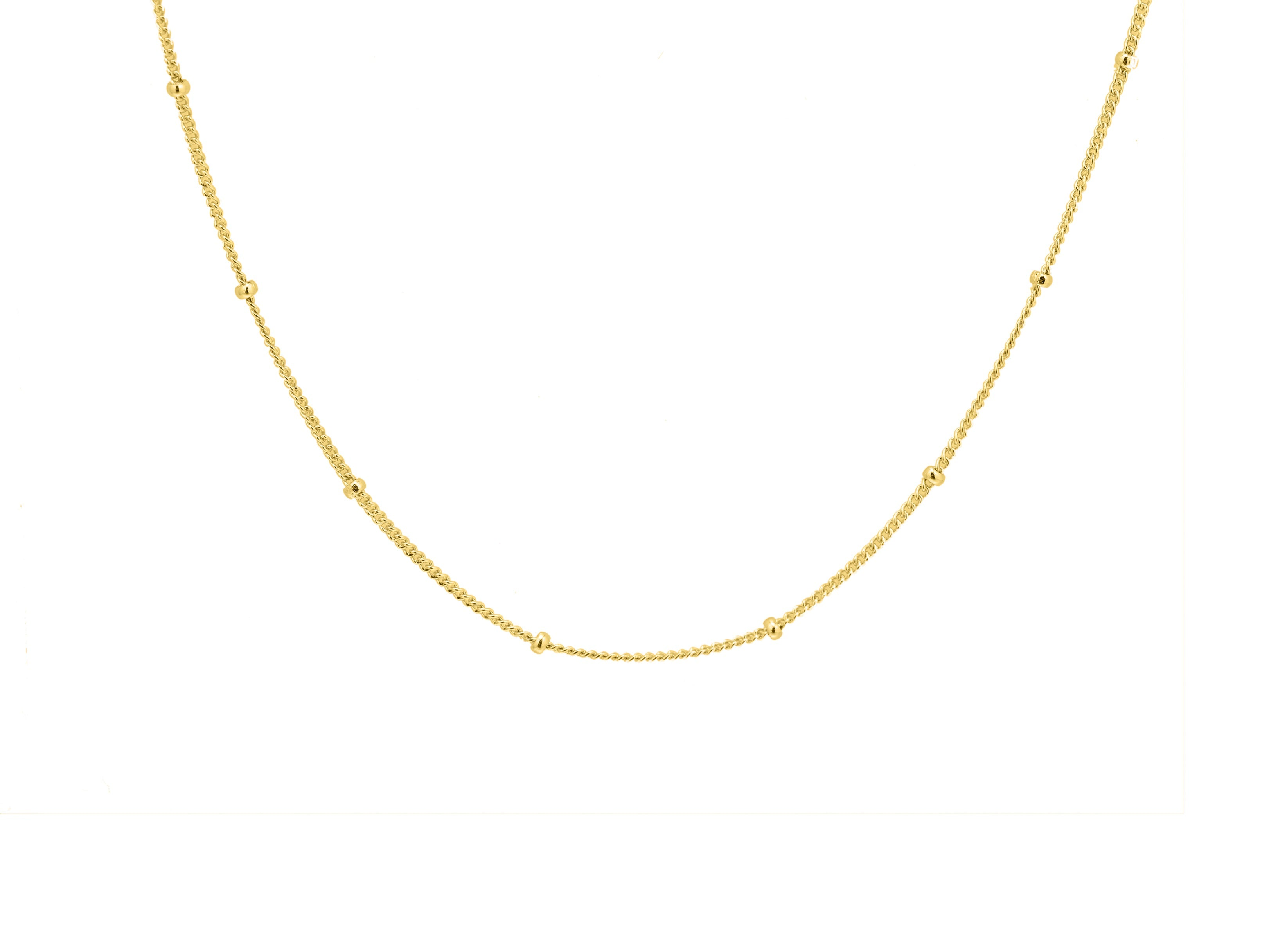 Bobble Chain - Yellow Gold