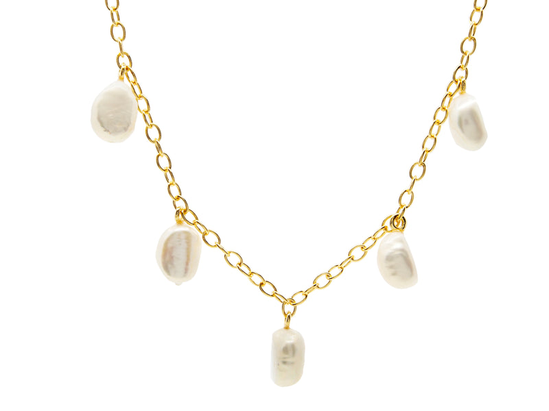 Cable Beach Necklace - Yellow Gold