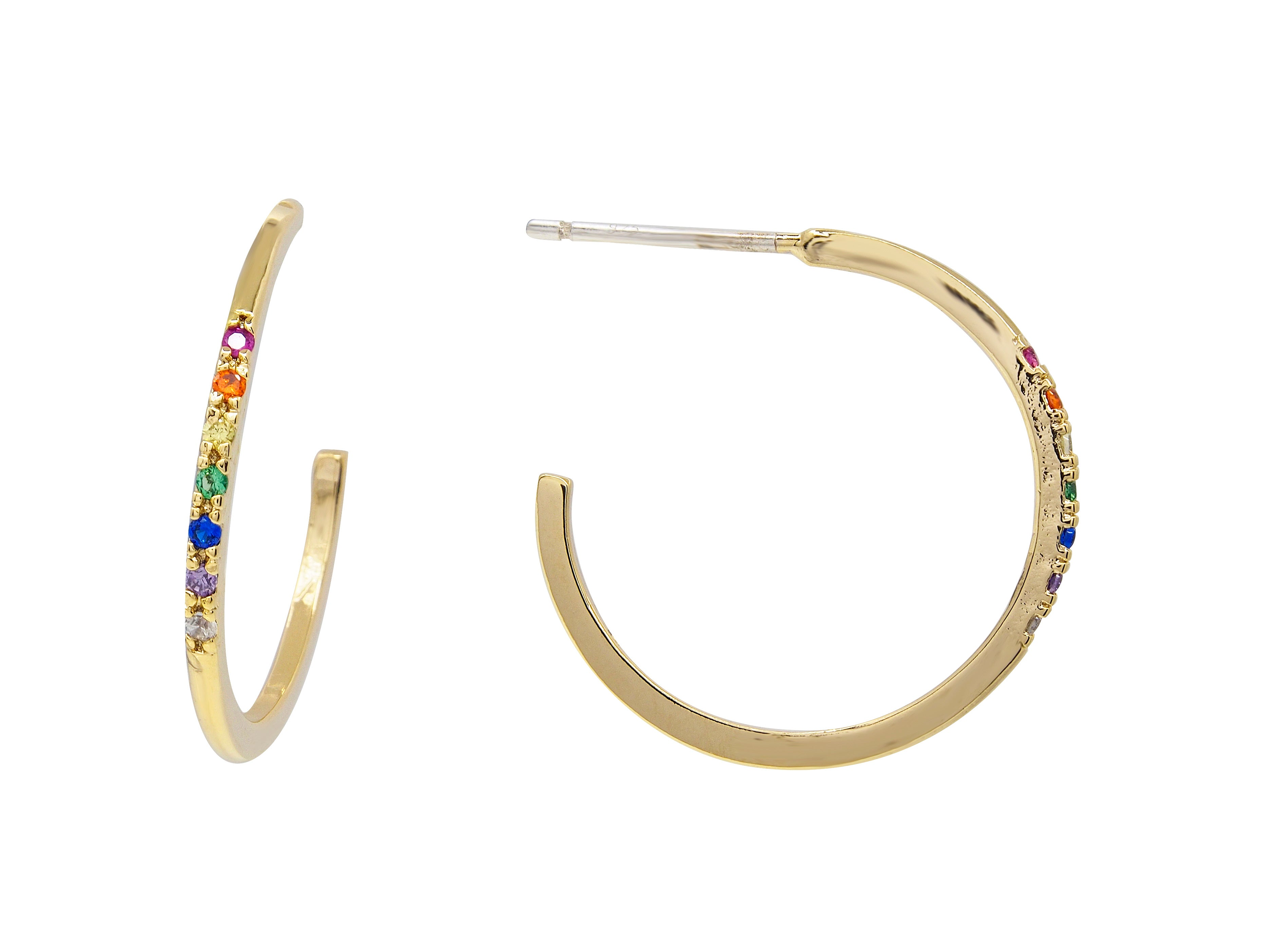 Rainbow Hoops - Multistone