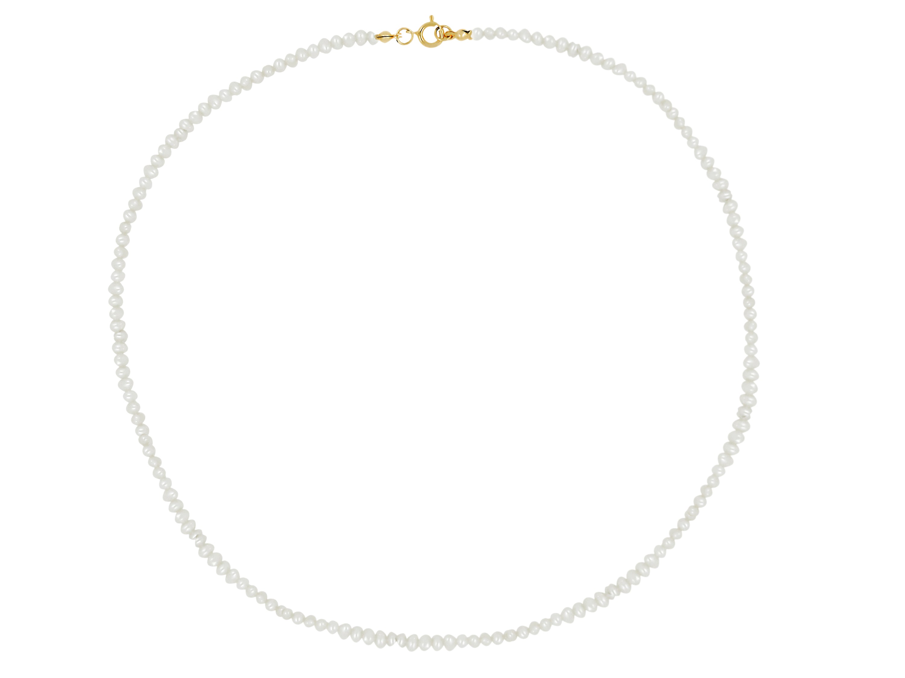 Seed Pearl Choker - Fresh Water Pearls