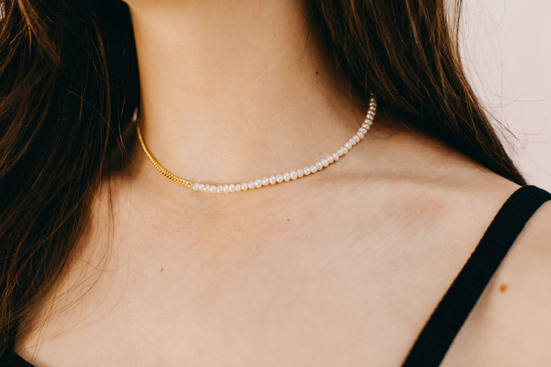 Lover Necklace - Yellow Gold