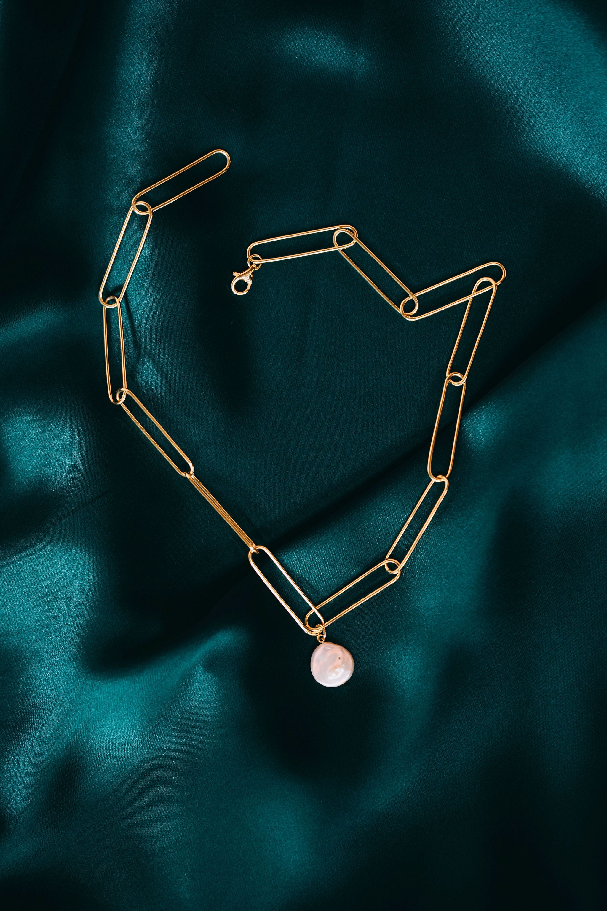 Nova Necklace - Yellow Gold