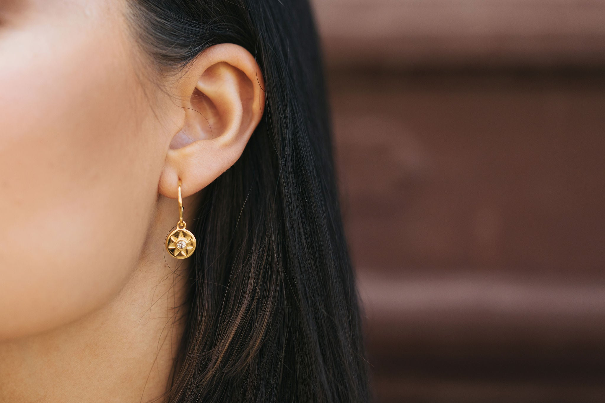 Arinna Earrings - Yellow Gold