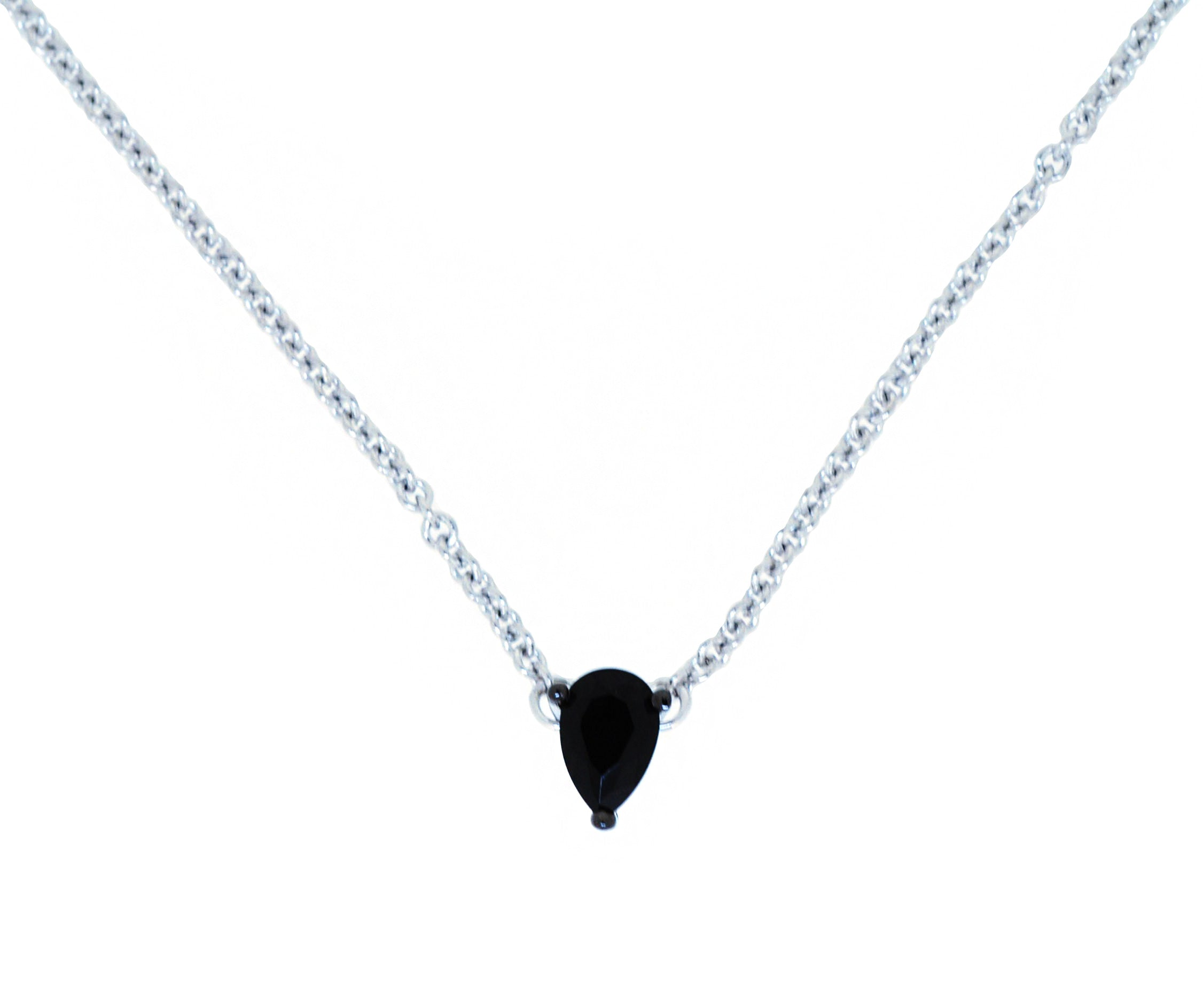 jacquelineashworth necklace gold products love silver focus sterling filled passion black calmness briolette and spinel