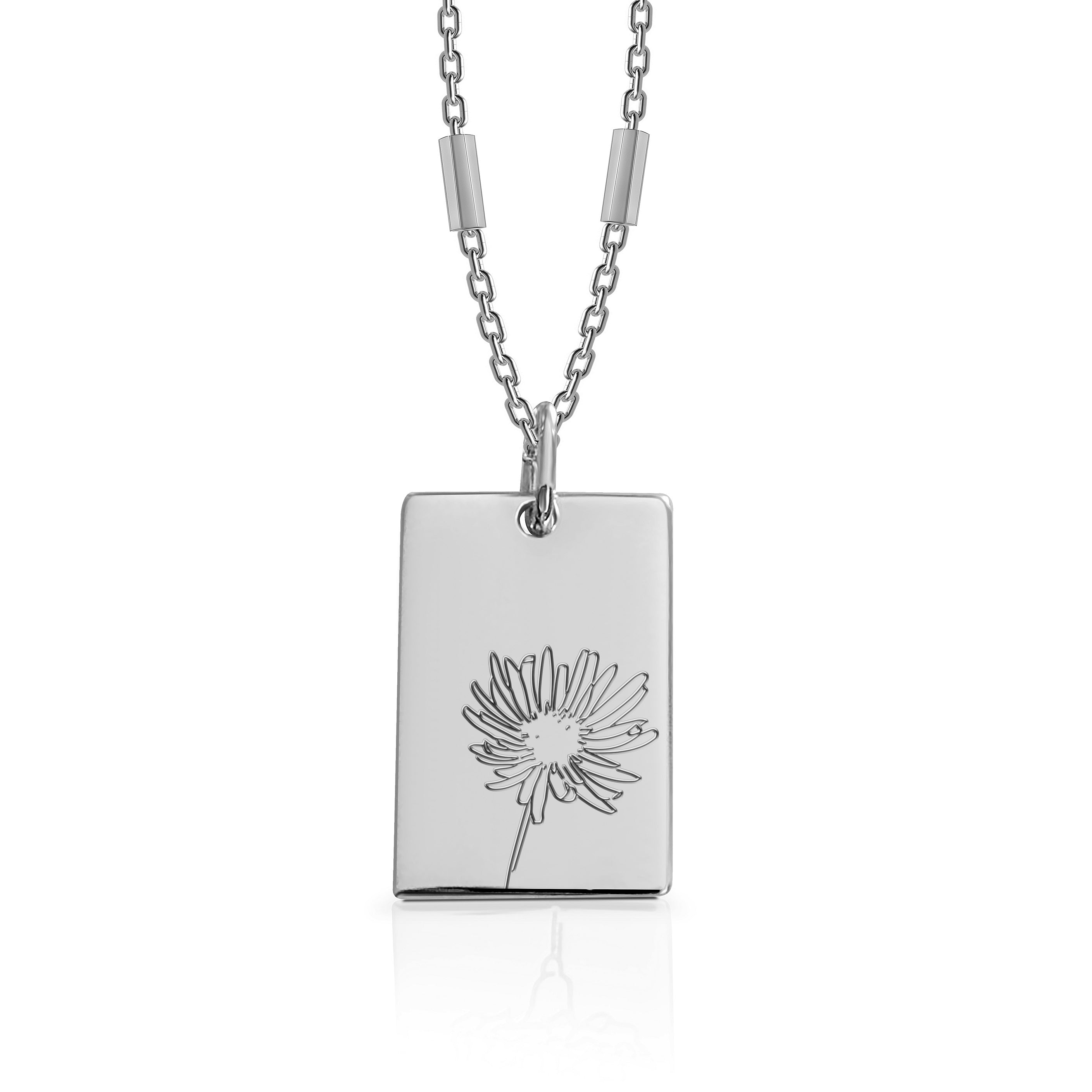SEPTEMBER / Aster - Silver (Rhodium Plated)