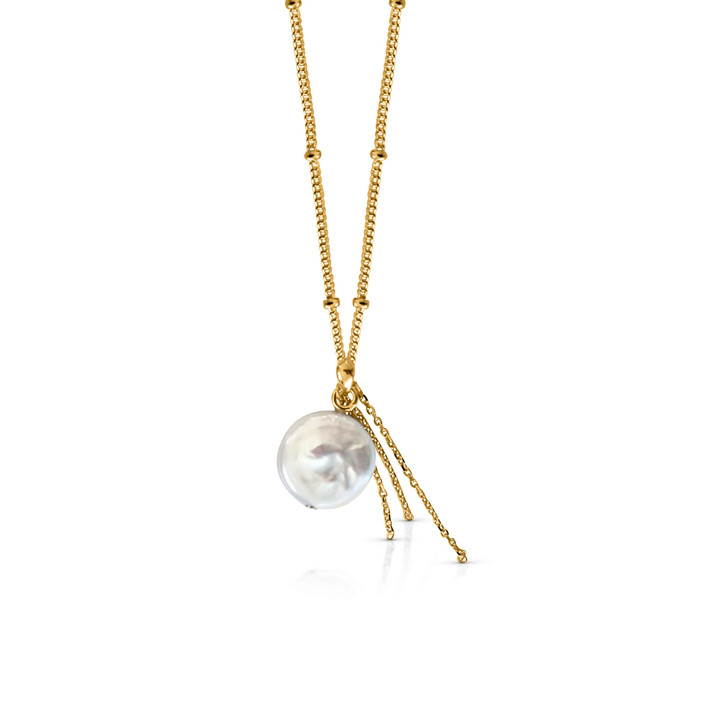 Treasure Necklace - Yellow Gold