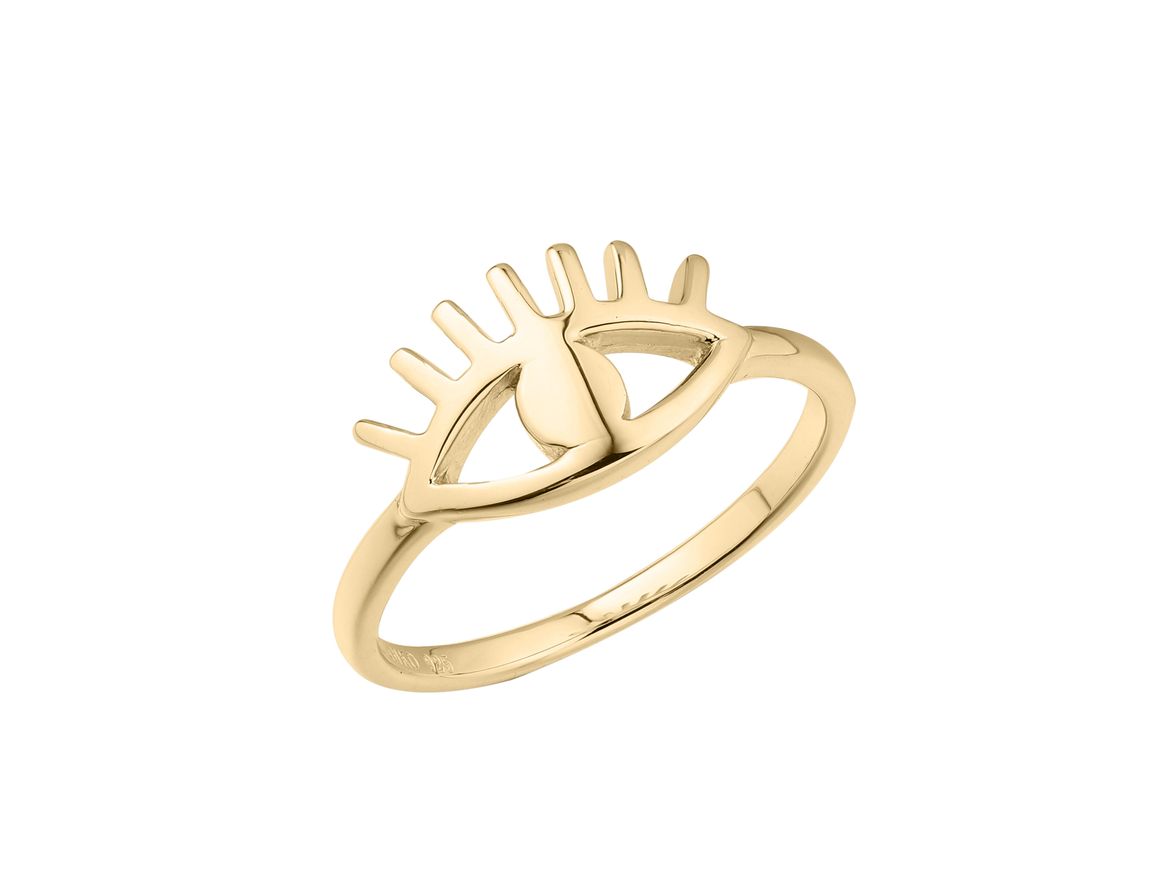 Cleopatra Ring - Yellow Gold