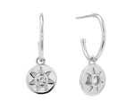 Arinna Earrings - Silver (Rhodium Plated)