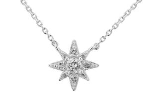 Astraea Necklace - Silver (Rhodium Plated)