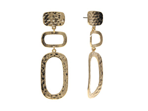 Saint Tropez Earrings - Yellow Gold