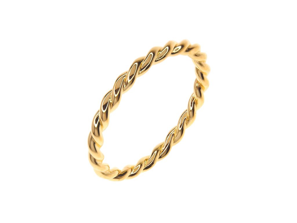 Twist Ring - Yellow Gold