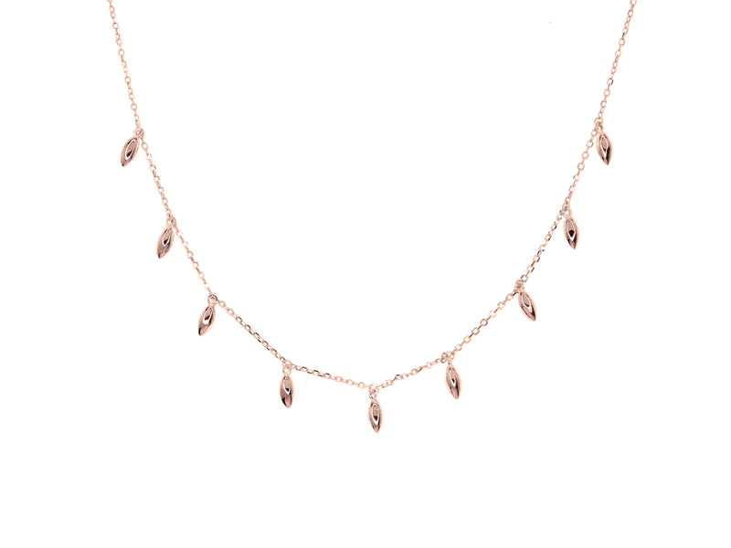 Tribal Necklace - Rose Gold