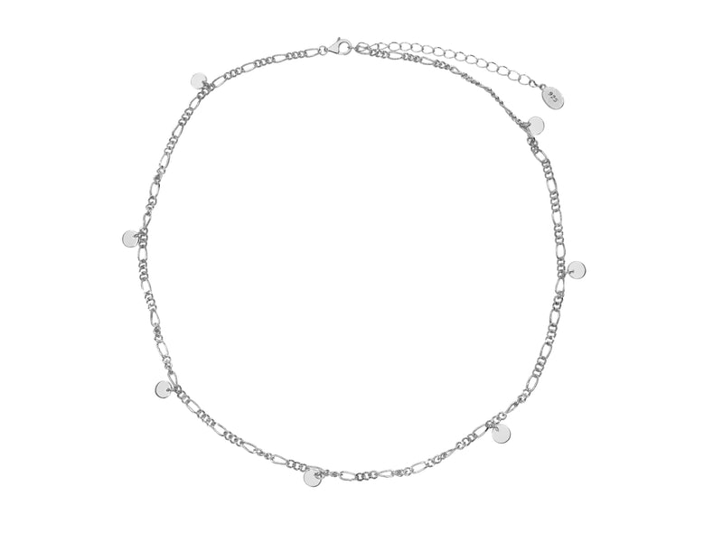 Charmer Necklace - Silver (Rhodium Plated)