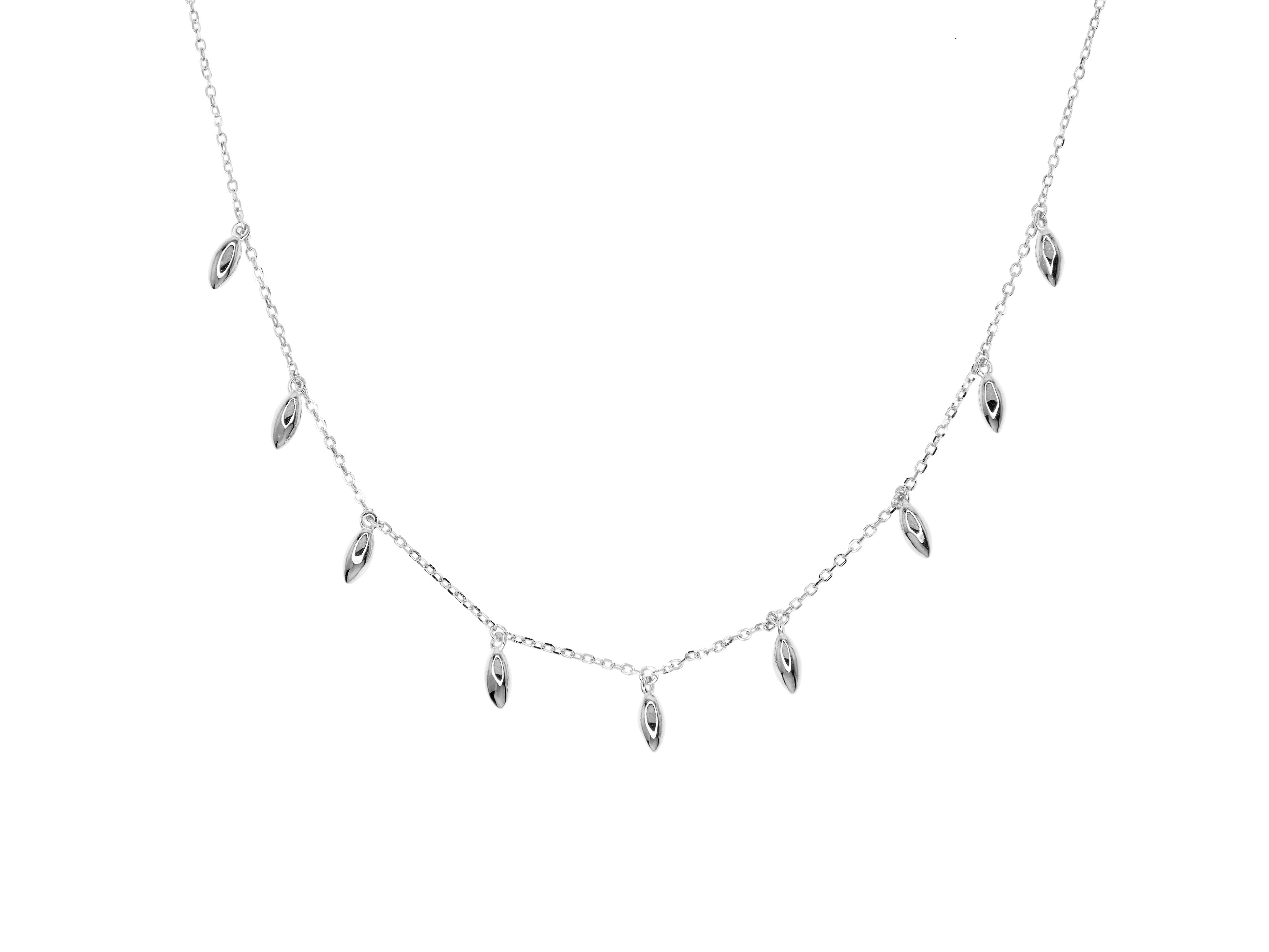 Tribal Necklace - Silver (Rhodium Plated)
