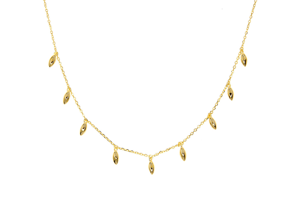 Tribal Necklace - Yellow Gold