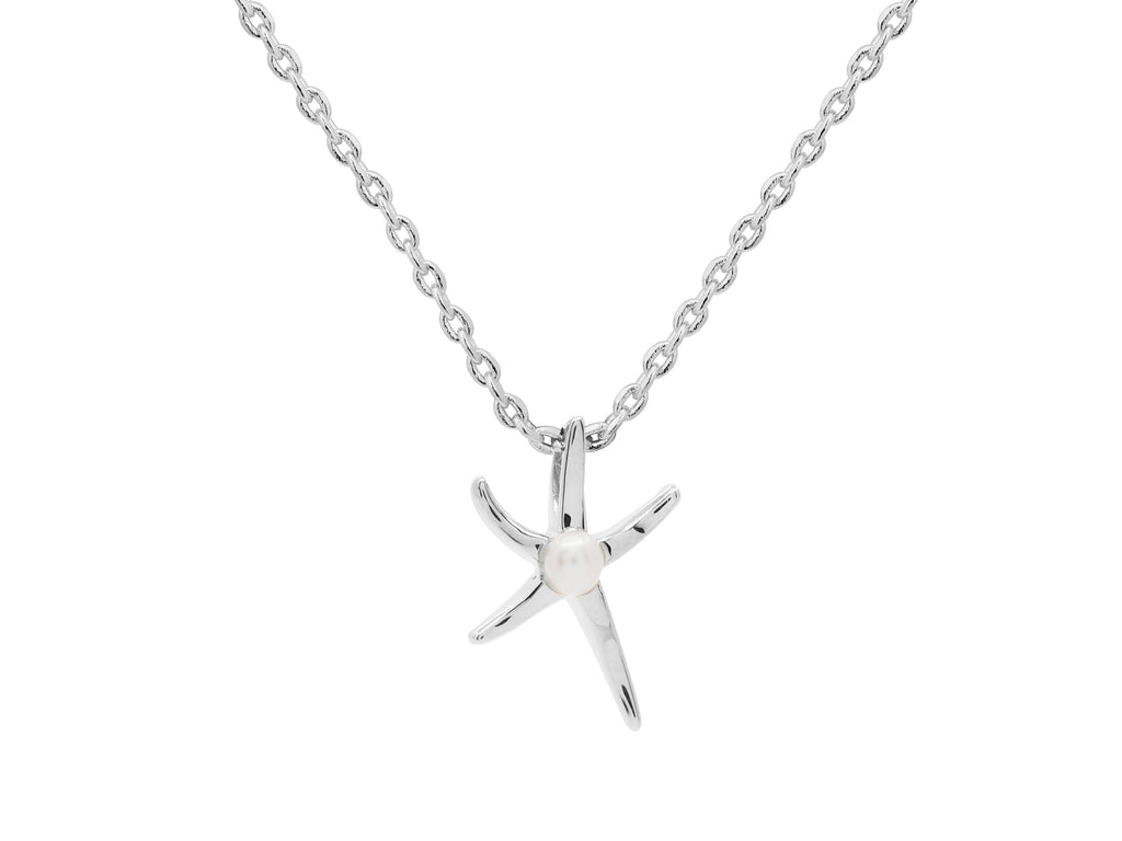 Ningaloo Necklace - Silver (Rhodium Plated)