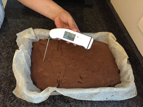 Thermapen Chocolate Brownies