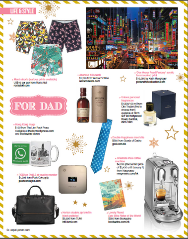 gifts for him magazine coverage
