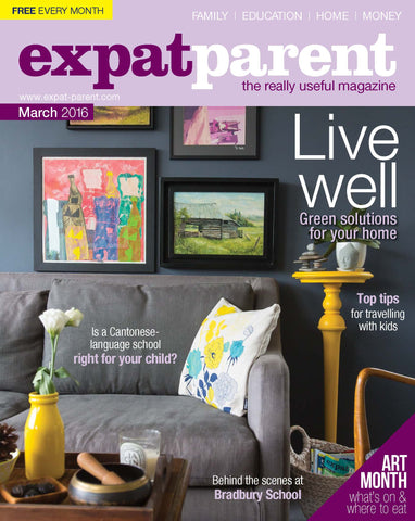 Expat Parent Magazine PEEKair