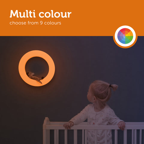 mutli colour wall light