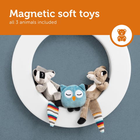magnetic soft toys