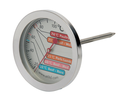 Large Meat Thermometer with 60mm dial