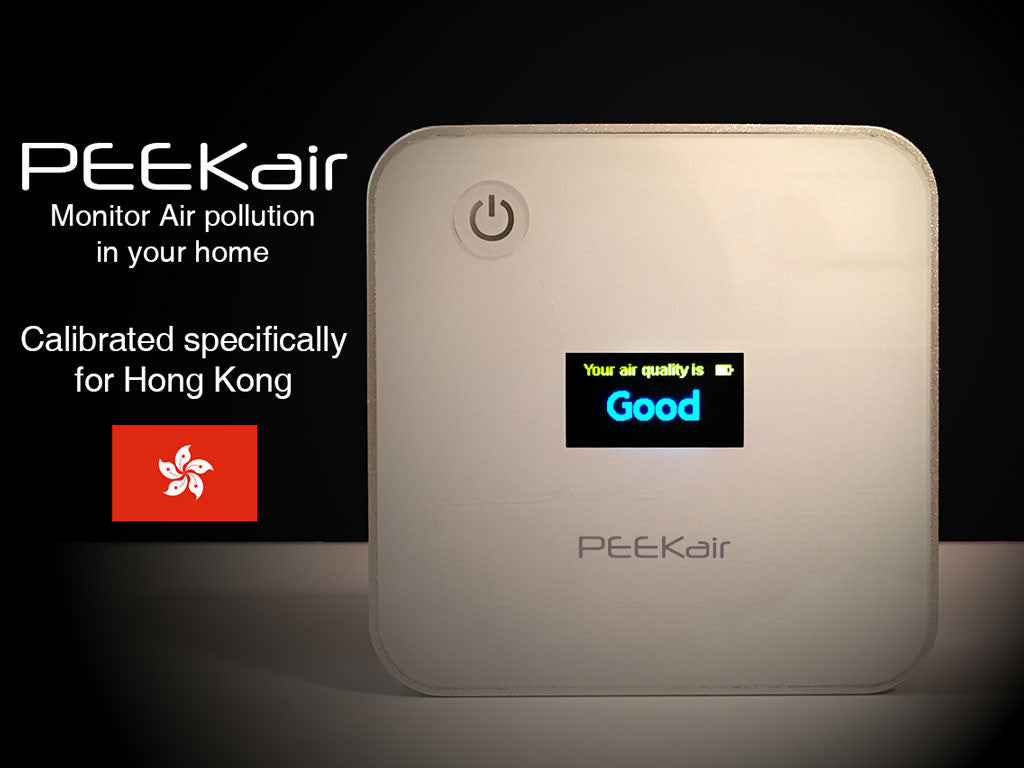 PEEKair Calibrated for Hong Kong