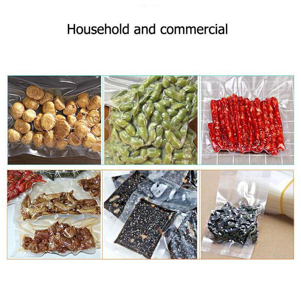 Electric Vacuum Sealer Packaging Machine with 15 vacuum bags