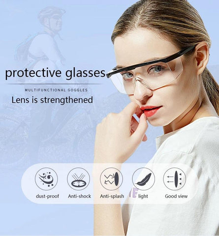 Heavy Duty PC Safety Glasses - Set of 3