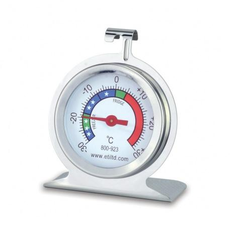 Stainless steel fridge/freezer thermometer with Ø50 mm dial
