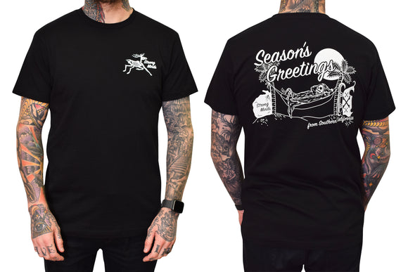 Season's Greetings - Black Tee