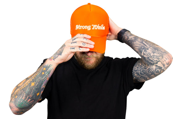 Strong Minds Orange Otto Hat