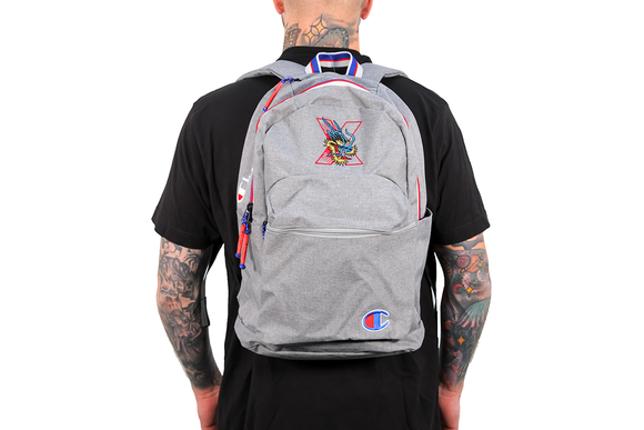 Dragon X Champion Backpack - Heather Grey *LIMITED*