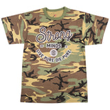 Live Pure Die Pure Camo Tee
