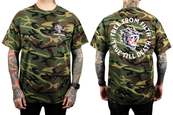 Free From Filth Camo Tee