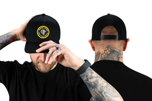 True Till Death Black Snapback Hat