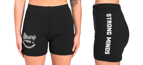 Live Pure Die Pure Girl's Biker Shorts
