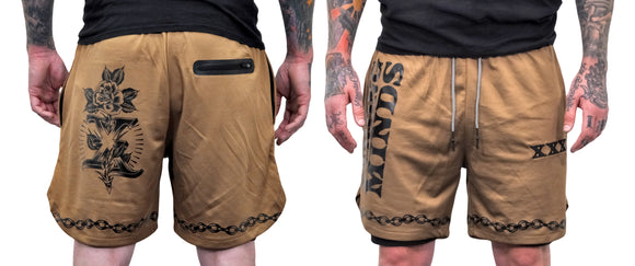 Conditioning Shorts - Khaki